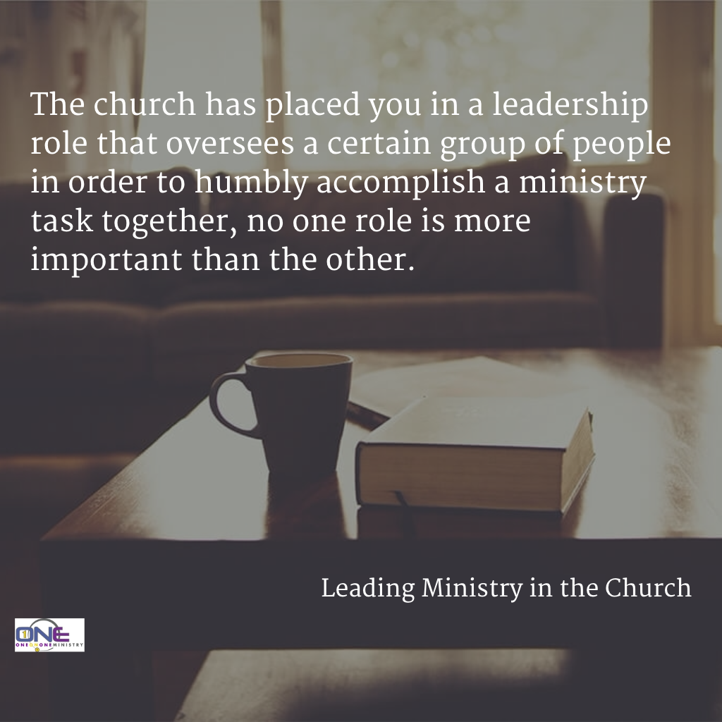 Leading Ministry In the Church